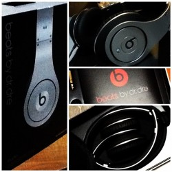 beats by dr. dre STUDIO special edition (Taken with instagram)