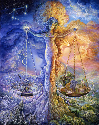 "Libra: September 23-October 23 Libra, the only inanimate sign of the Zodiac, is ruled by Venus. Modern-day astrologers often view Libra as the most generous of the Zodiac because it represents the ""Zenith of the Year,"" when the harvest of the spring's hard work is reaped. Because Venus is the goddess of love and beauty, Librans admire beauty in many forms, such as art, music, and even people. Librans are very likeable due to their captivating charm. Being an air sign, Librans are intellectual and continuously seek out knowledge and new ideas. Born under the sign of the Scales, their spirits thrive on balance and harmony and are most at peace when the world around them is orderly and serene."