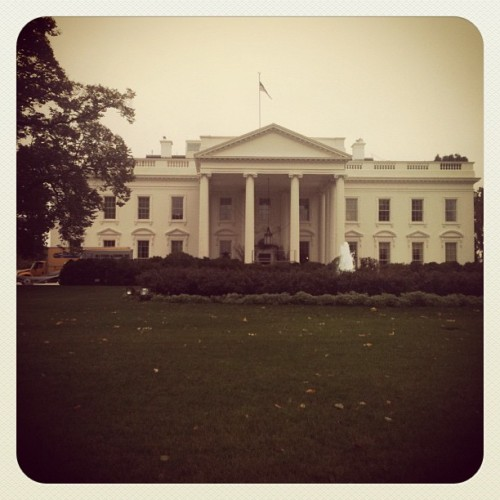 This is the White House at the end of October. I love hubby's job, it allows us to finally see the places we always wanted!!