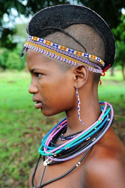 Check out this Fulani girl's hairstyle ..loveee itt.. :)