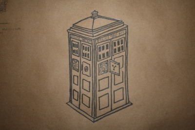 """The Heart of the Tardis"" (Take 1, to be painted) Also known as the Flux Capacitor. It's a bit difficult to make out in this picture, but hopefully with some future color it will come together better."