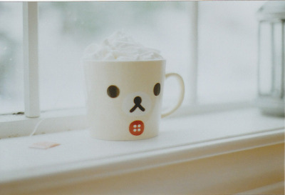 ileftmyheartintokyo:  Explored! Cup of bear by Natalie Heise on Flickr.
