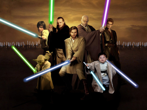 "Today's Epic Jedi Youngling Adora  Photoshop was  created by aspiring graphic designer, photographer and printer Rick Carlson from Muncie, Indiana. Rick is a senior at Ball State University majoring in ""Graphic Arts Management"" (aka printing), and a Star War fan. This is his gift for Adora. This entry was done after a request on the new Adora Art Wish List.  Thank you so much, Rick! - - - - - - - - - - - - - - - - See the complete collection of over 170 artworks by clicking on the 'Adora Art' tag below."