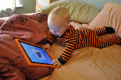 "babieswithipads:  Justin only speaks in trending topics; his first word was ""Gaga."""
