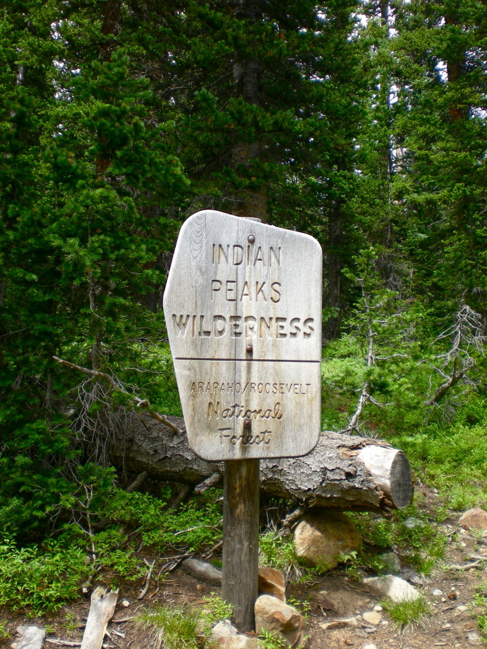 Indian Peaks Wilderness Area, Colorado.