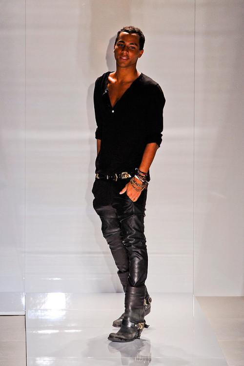 revolutionriche:  Olivier Rousteing, Balmain's head of Ready to wear.