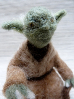 Needle-Felted Star Wars Ornaments