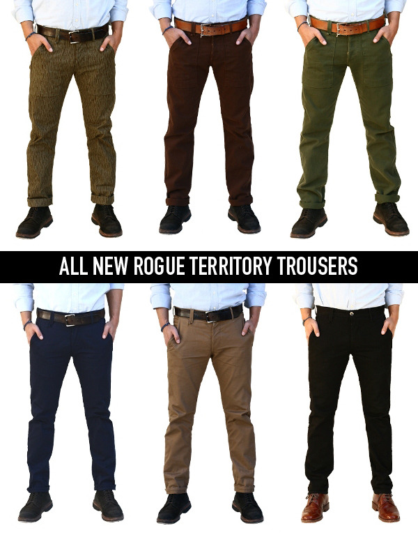 All new Ar-G Trousers and Safari Trousers are available NOW on our online store!
