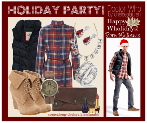 Rory Williams - Wholiday Party! - | Doctor Who - Click here!