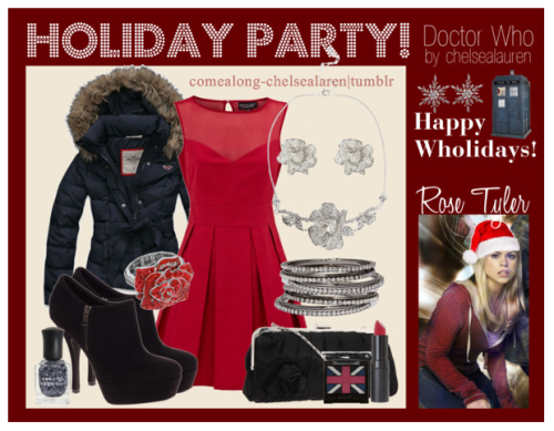 Rose Tyler - Wholiday Party! - | Doctor Who - Click here!