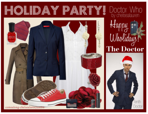 The Doctor (10) - Wholiday Party! - | Doctor Who - Click here!