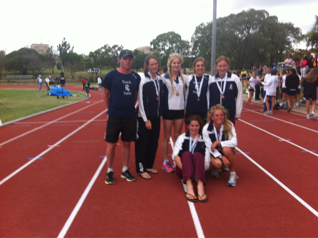 Congratulations to the senior girls, 3rd in Australia