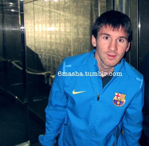 I was next to messi here xD! <3