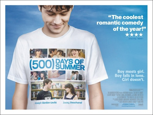 ACTUALLY NO! I'm going to challenge myself and write about 500 Days of Summer instead, it's not a genre I know inside out and it's not a film that I would typically enjoy (though I loved it) I think it'll be more interesting to write about a film I don't know like the back of my hand.