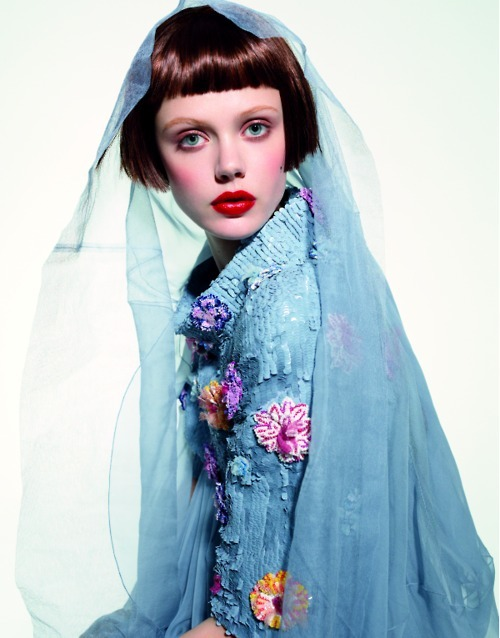 Chanel Haute Couture S/S 2008, Frida Gustavsson in 'Northern Women in Chanel' by Peter Farago