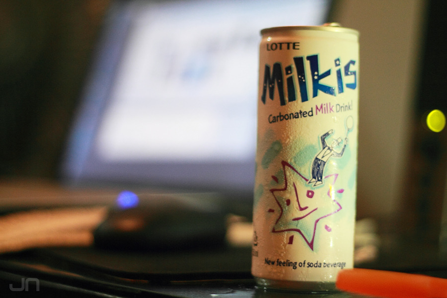MILKIS: carbonated milk drink! YAKULT! Since I was young, I had always dreamed of drinking Yakult in bigger bottles. I think this is the closest I could get to (without opening individual yakults and pouring them into one container:D) Definitely not for everyone, but it sure made me happy hahaha:D