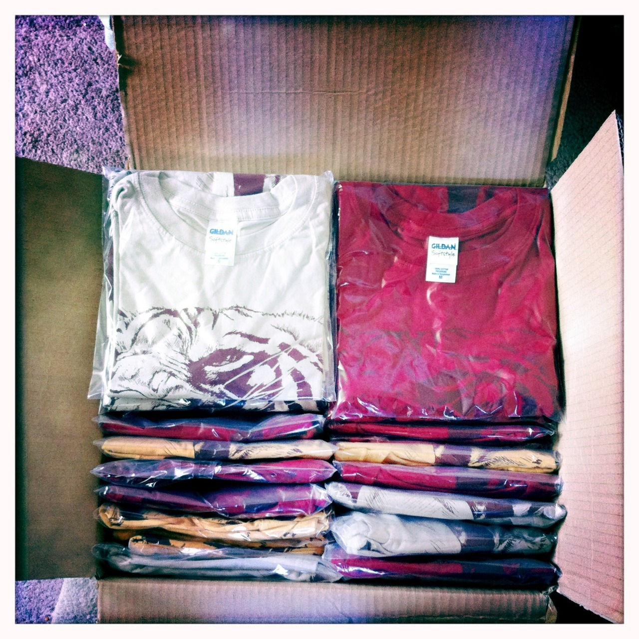 All tees are prepacked and folded, dust free. Sneak peek from the new design, photoshoot on the 12th December! You can buy here: http://fastwear.bigcartel.com/product/tiger-yellow