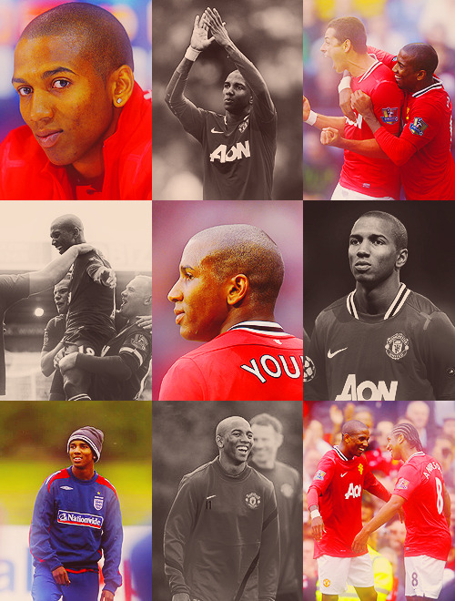 nine favourite pictures → ashley young.asked by paulscholes.