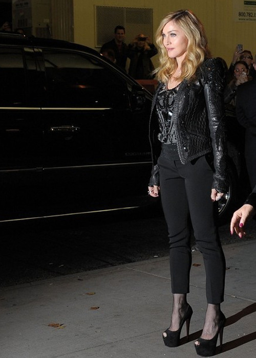 I swear this women gets better with age! Madonna, just a few days ago.