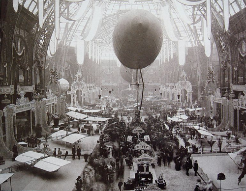 kateoplis:  The first Salon de locomotion aerienne, 1909, Grand Palais, Paris