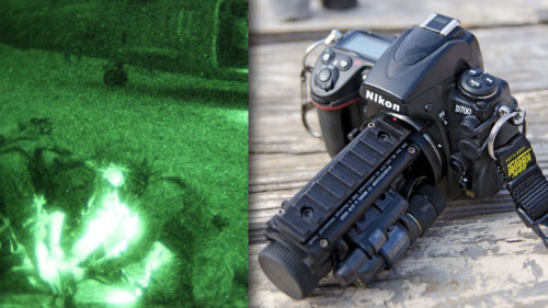 bandh:  The lens that can see in the dark (via Gizmodo)  Looks like a weapon