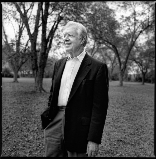 billyhowardfoto:  Humanitarian Jimmy Carter in Plains, Georgia. featured in Vogue Italia online