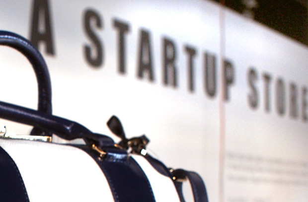 "Startup Store: born in the Startup Generation & the Startup Key Point Taking the principles learned from NYC-based start-ups, retail consultant Rachel Shechtman quietly unrolled A Startup Store last night in the shadow of the High Line. ""A Startup Store has the  point of view of a magazine, but it changes like a gallery and it sells  things like a store,"" she says. Shechtman calls the concept  ""transactional storytelling,"" placing a narrative at the center of a  retail venture. The store will be completely reinvented every four to  six weeks, with a different theme guiding every detail."