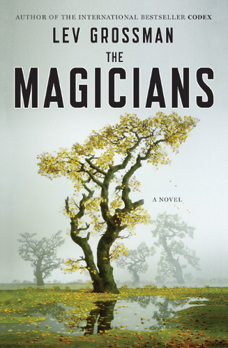coverspy:  The Magicians, Lev Grossman (M, 20s, royal blue soccer shorts, grey t-shirt, L train) http://bit.ly/qzW7dx