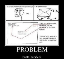 How to Troll the postal service