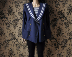 new photos! sailor-style jacket