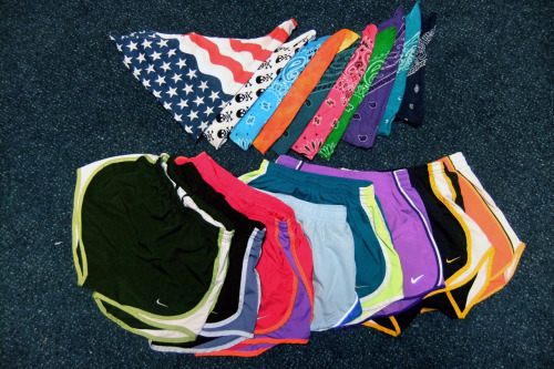 Nike Shorts/Bandana Obsession.