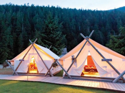 Clayoquot Wilderness Resort @ Canada