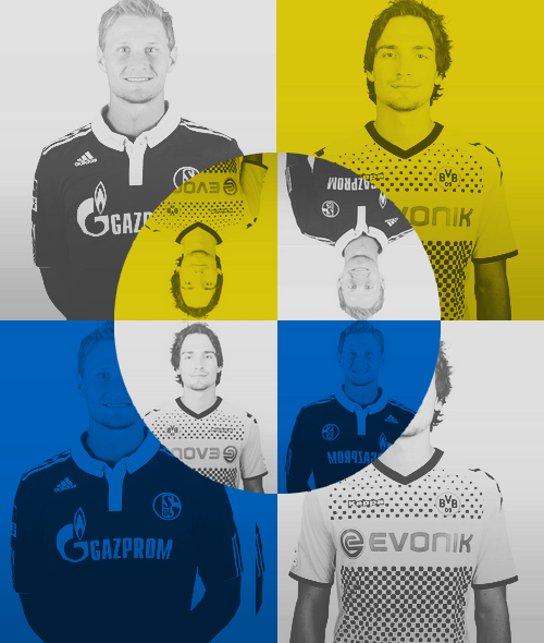 Advent Calendar Day 02 Say hello to: Mats Hummels & Benedikt Höwedes   Friendship between rival teams is possible. (Or just between players.)