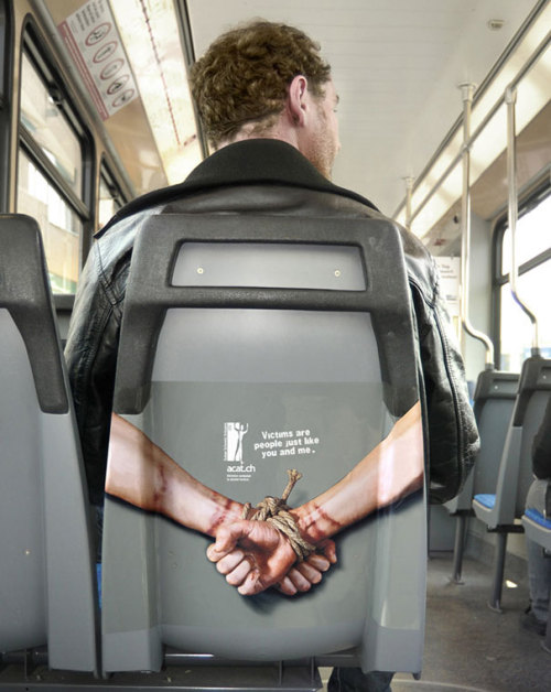 ACAT Campaign Against Torture: Back Of Seats
