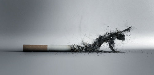 jaymug:  Anti Smoking Ad by Lucas Zoltowski