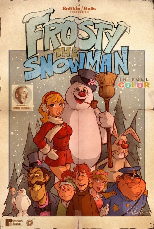 Frosty the Snowman by *blitzcadet