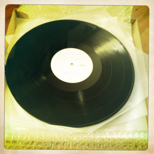 Listening to Snow Damage test presses. God damn vinyl sounds so good! I'm giving away a test press 1 of only 5 that exist to one lucky person who purchases a cd, vinyl or download at http://www.brianmarquis.bandcamp.com contest ends and winner announced new years day.