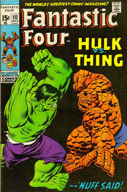 Fantastic Four #112 (1971) 'Nuff Said!