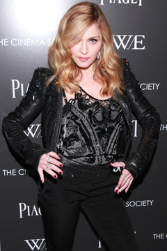 "Madonna, Chloe Sevigny, Donna Karan, and more at MoMA's ""W.E."" screening."