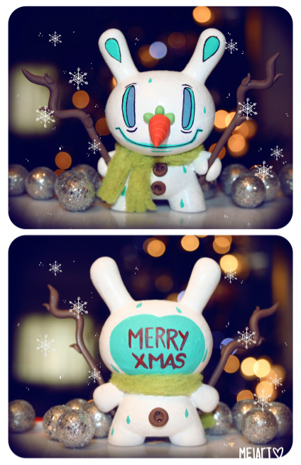 melart:  Merry Xmas Everyone!!!  Snowman Dunny By Melart!!! it's Finally done!!!