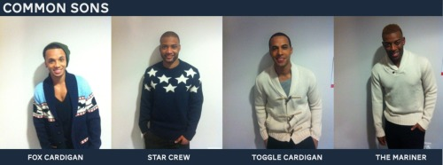 All four of JLS #JLSofficial in #CommonSons knitwear over the weekend!!