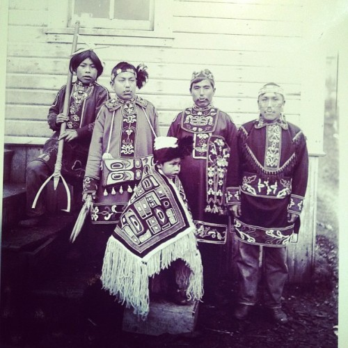 gypsy-jade:  My #ancestors #tlinget tribe. We were part of the raven clan. #vintage #picture #Alaska #history (Taken with instagram)