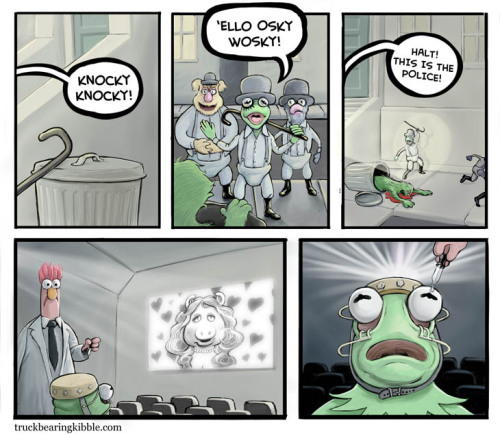 rootfish:  If this was the new muppets movie, I would be the first one in line.