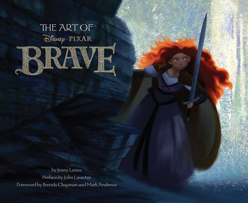 "Check out the cover art for ""The Art of Brave"""