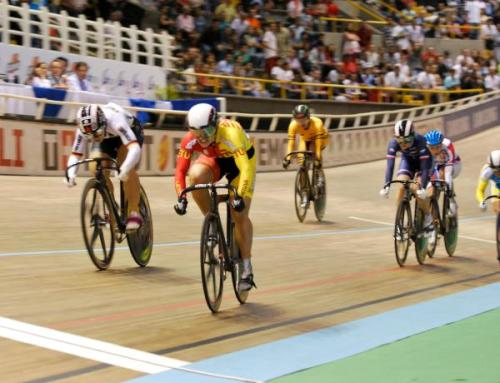 UCI Track World Cup 2011-12 - Round 2, Cali: Simona Krupekaite Wins The Women's Keirin, Photos | Cyclingnews.com 1.   Simona Kripeckaite, Lithuania2.   Kristina Vogel, Germany3.   Virginie Cueff, France4.   Lyubov Shulika, Ukraine5.   Ekaterina Gnidenko, Russia6.   Fatehah Mustapa, Malaysia7.   Monique Sullivan, Canada8.   Lisandra Guerra Rodiguez, Cuba9.   Gabriele Jankute, Lithuania10. Helena Casas Roige , Spain Full results More photos of Day 4 on Cyclingnews