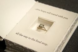 ellekrauselyons:  Yep, officially the cutest/coolest proposal idea I have ever seen Via Hello Lucky