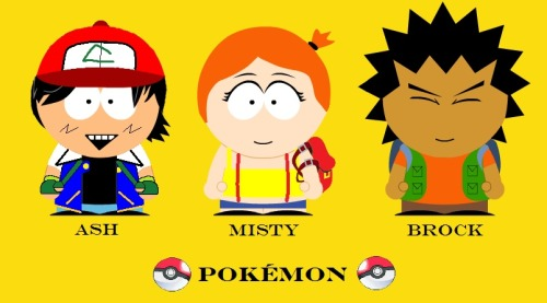 If there were Pokemons in South Park.