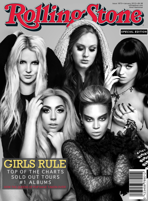 itsneemzbitch:  Rolling Stone - Girls Rule - Jaunary 2012 Issue