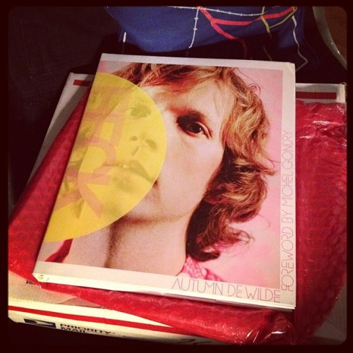 Best mail to come home to. Thank you so much, @autumndewilde (Everybody: get this book!) (Taken with instagram)
