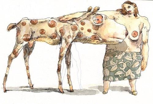 Sketchbook and more drawings by John Cuneo.